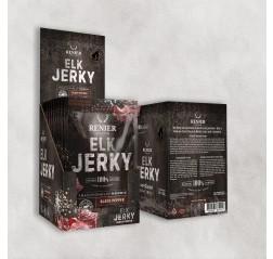 NORDIC ELK JERKY -BLACK PEPPER -Hirven kuivaliha -MUSTAPIPPURI 25 g ME:12 Tuotekuva