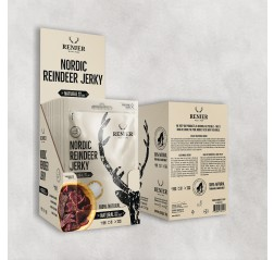 NORDIC REINDEER JERKY -Poron kuivaliha Renjer 25 g ME:12 Tuotekuva
