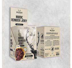 NORDIC REINDEER JERKY -Poron kuivaliha Renjer 25 g ME:12-thumbnail